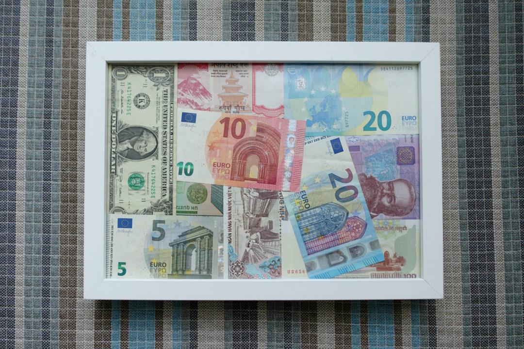 Ako si vyrobit obalku na peniaze