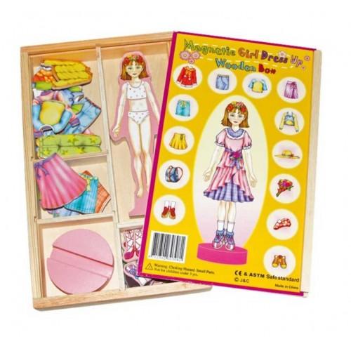 drevená hracka pre dievcatko