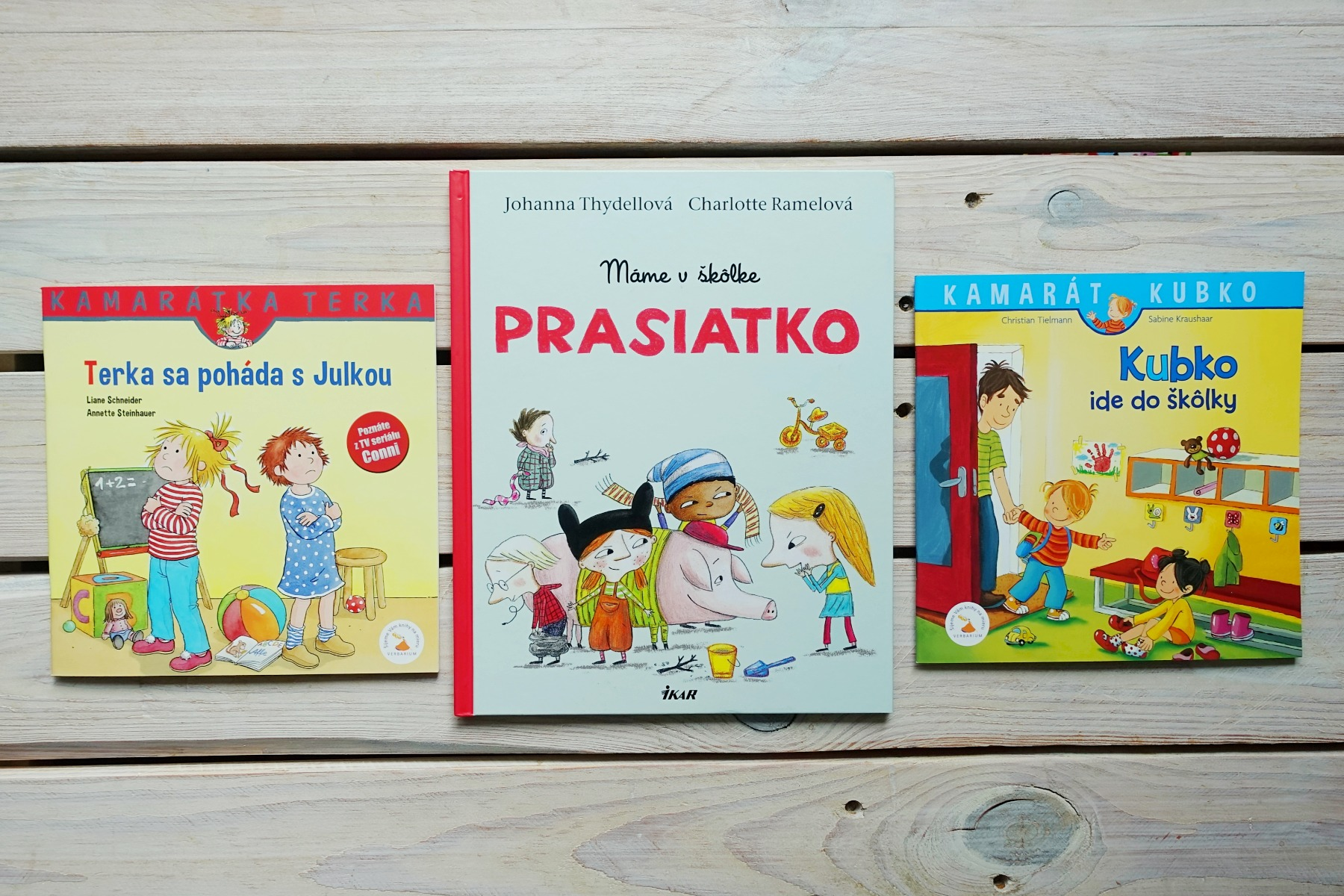knihy o Terke