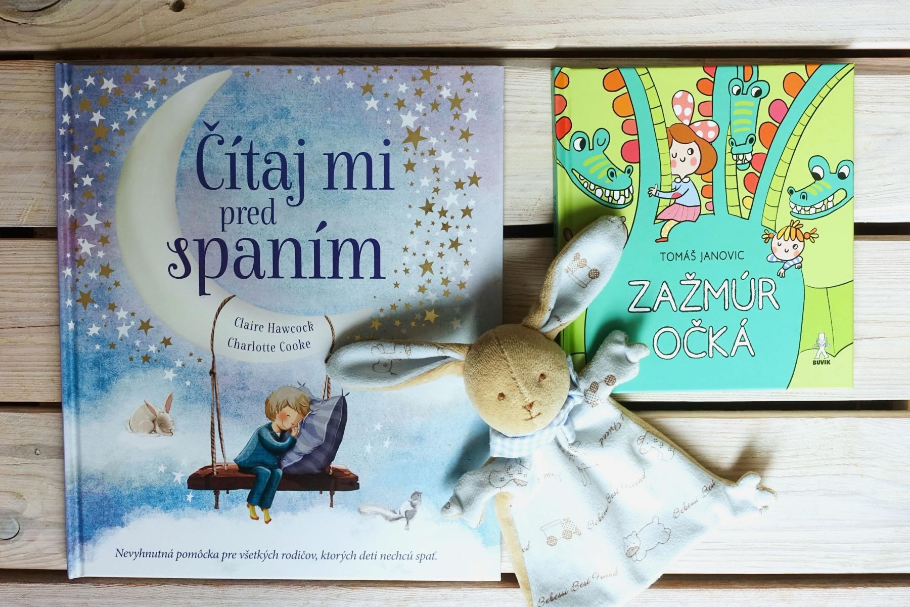 detske knihy pred spanim