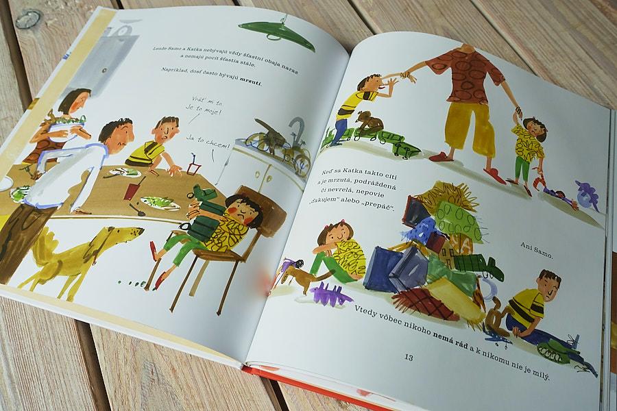 kniha pre deti o pocitoch