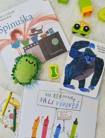 vtipné detské knihy